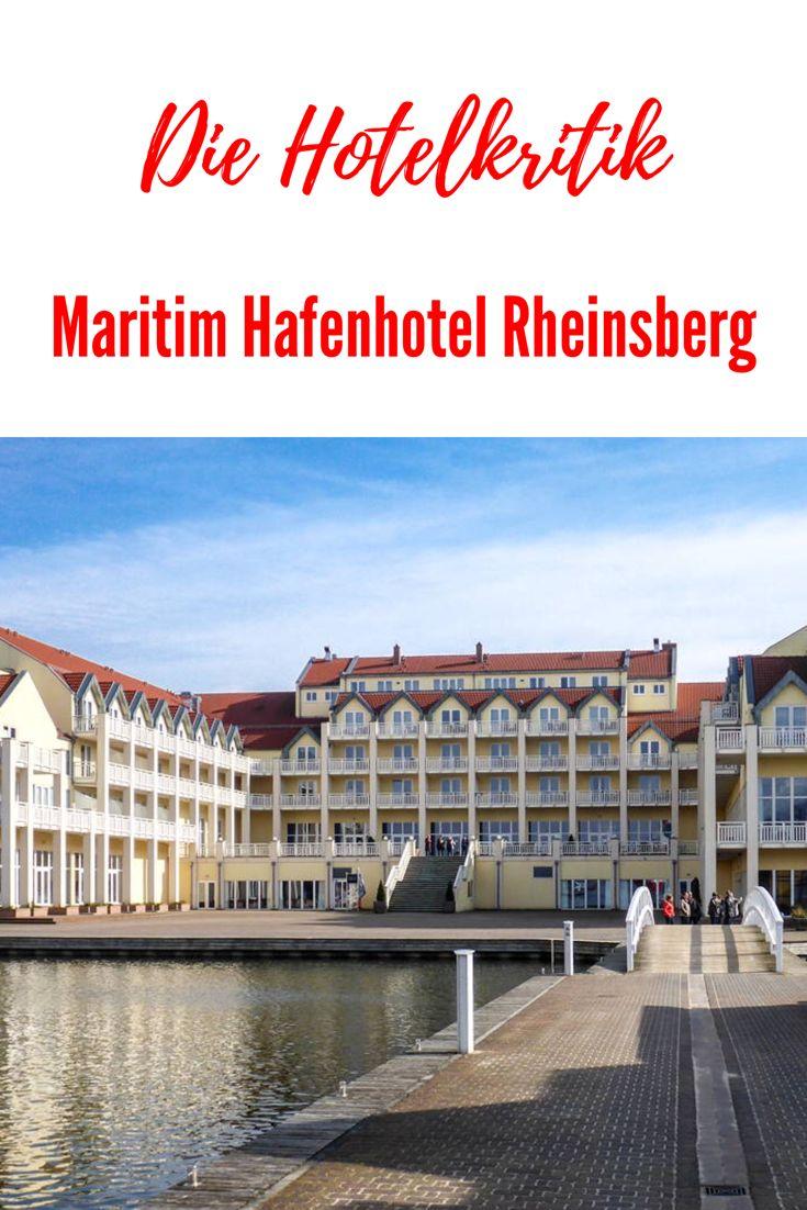 Die Hotel Kritik: Maritim Hafenhotel Rheinsberg, 4-Sterne-Hotel in Brandenburg direkt am See