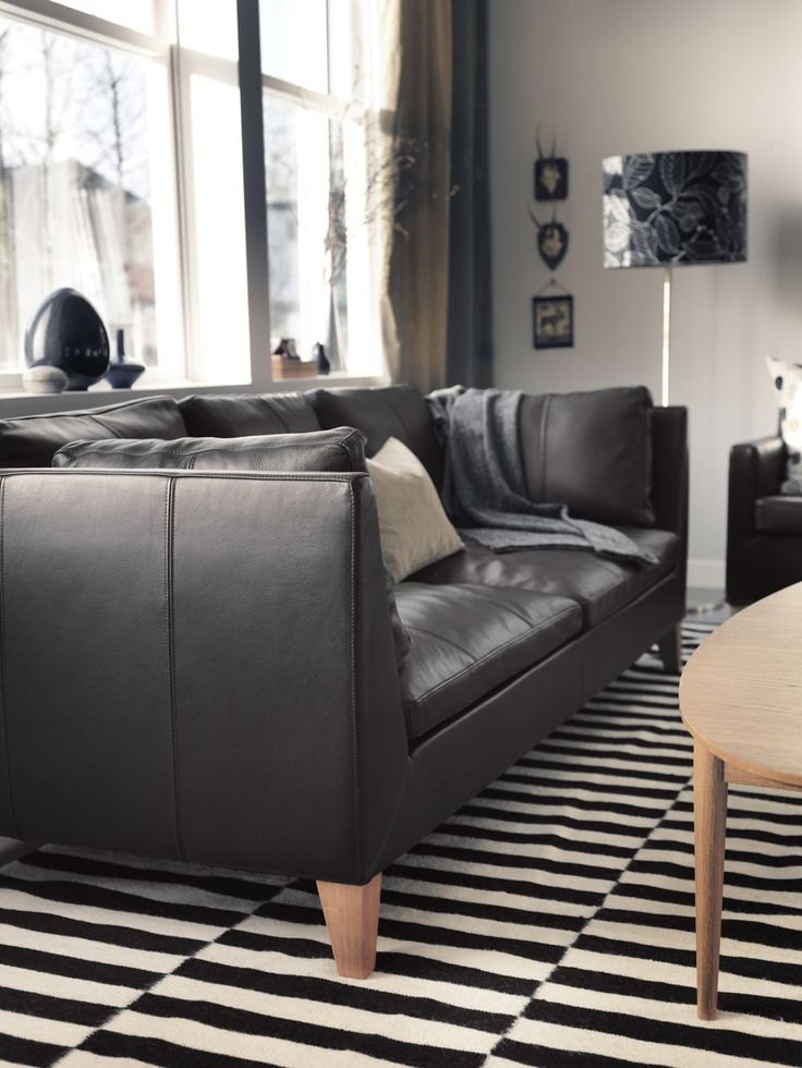 25 best ideas about ikea leather sofa on pinterest ikea sofa sofa legs and ikea couch Ikea stockholm sofa