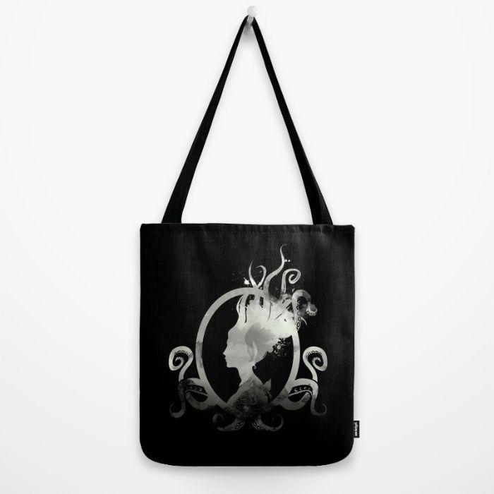 Lady Lovecraft Tote Bag by Erika Biro | Society6