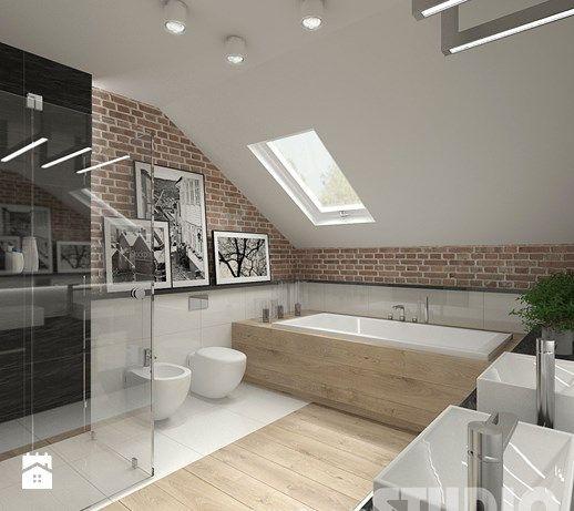 Aranżacje wnętrz - Łazienka: Łazienka w stylu skandynawskim - MIKOŁAJSKAstudio…