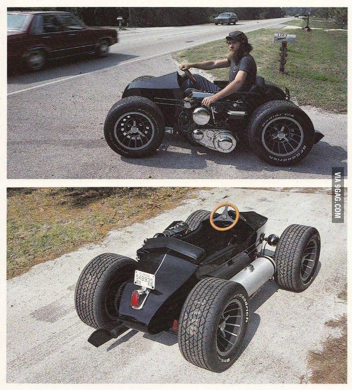 Harley sidecar car