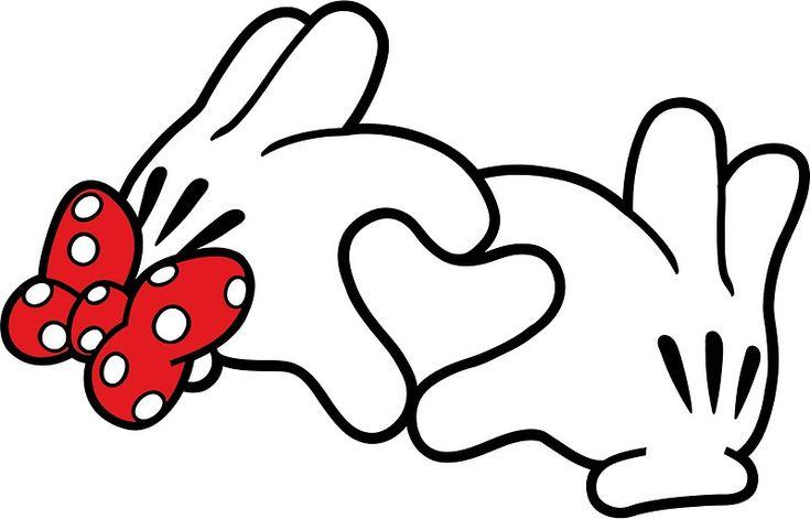 Mickey Heart Hands by SeanMilks