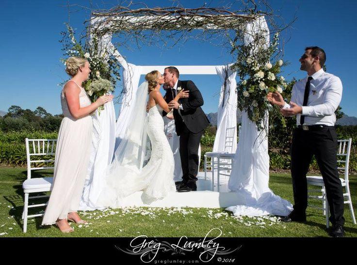 Vrede en Lust wedding ceremony by the i do box team.