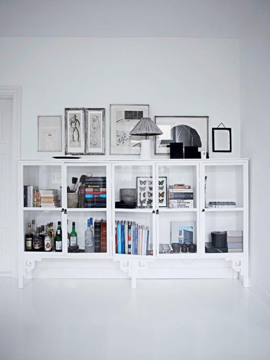 Beautiful Arrangement In This Shelving Unit   Home Of Tine Kjeldsen  (Denmark) Part 94