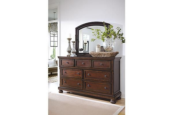 The Porter Dresser - Going to need to move our clothes into our room eventually. This dresser matches our bedframe.