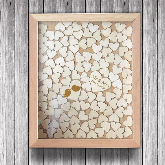 Cuore in legno personalizzato goccia libro degli ospiti di scatola 120-200 cuori a firmare.  Potrete firmare un cuore e poi cadere attraverso uno dei post qui fori sulla parte superiore del telaio.  Articolo ID: Mfwq002  Dimensione del frame  Piccole dimensioni: 30 x 35 cm (circa 120pcs piccoli cuori)  Grandi dimensioni: 40 x 50 cm (circa 150 pezzi per 200pcs piccoli cuori)  Dimensione del grande cuore: 6,5 cm Cuore di piccole dimensioni: 3cm  Materiale: legno  Peso: 600g  Come ordinare…