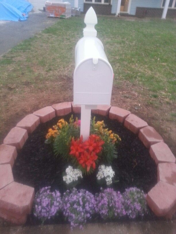Landscaping Ideas Around Mailbox Homes Decoration