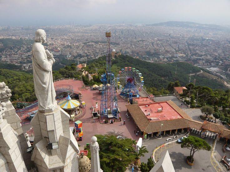 Tibidabo Mountain - A Magnificent Scenery   Barcelona City Travel - Barcelona Trip Advisor And Tips - Barcelona Guide