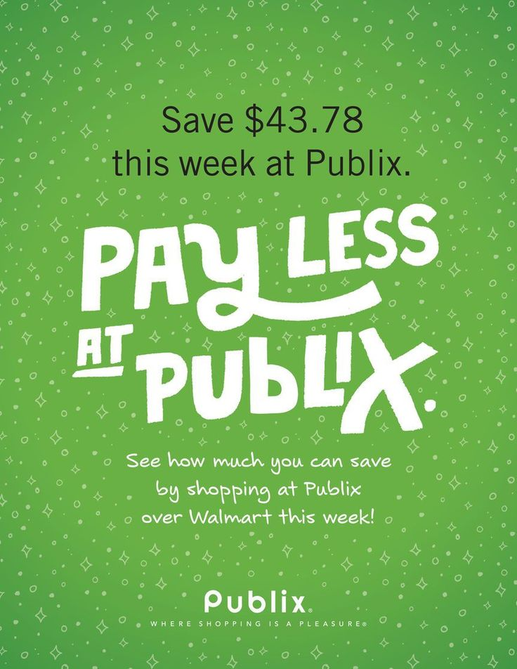 Publix Weekly Ad Circular 4/19 - 4/25 United States #food #savings #Publix