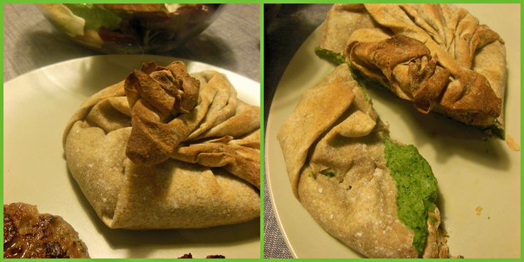 I adore Jamie Oliver and his 15 minutes meals ... Chickpea & Spinach & Feta Cheese Parcels (wholegrain pastry)