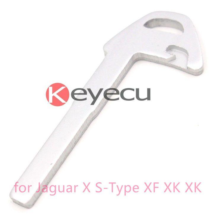 Intelligent Small key for Jaguar X S-Type XF XK XK8 XJR Super V8 Vanden Plas Remote Key Case Fob #Affiliate