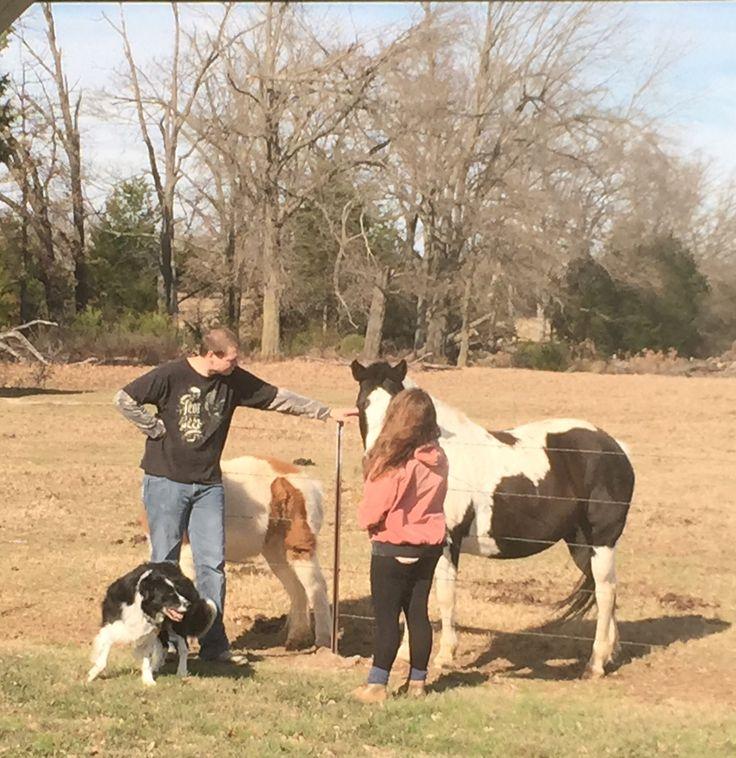 Mylo Dec 2914 with Julia, Christopher, Thunder(pony