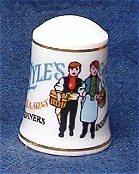 LYLE'S SYRUP THIMBLE FRANKLIN MINT