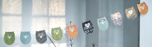 Ugler på snor - Owls on a line