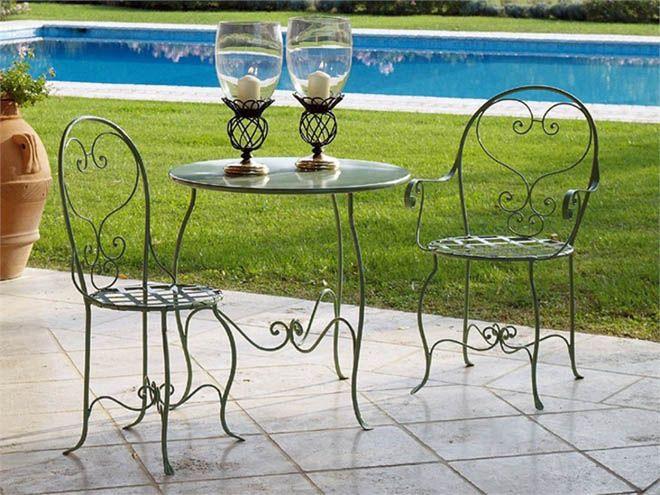 8 modelos de muebles de jardín -   Muebles de hierro ...