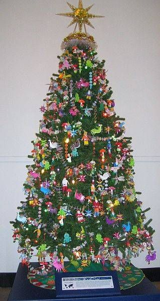 Pictures of Christmas Trees Around the World - How Eastern Europeans Decorate Their Christmas Trees