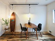 【お客様事例】テーブルをアクセントにしたリビングダイニング家具・インテリア通販のNOCE