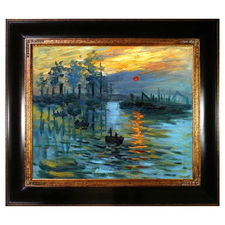 Impression, Sunrise by Monet Framed Reproduction - Mother's Day Gallery on Wayfair