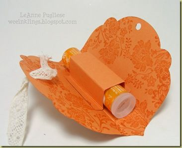 Lip Balm Holder Tutorial ... Cute idea!