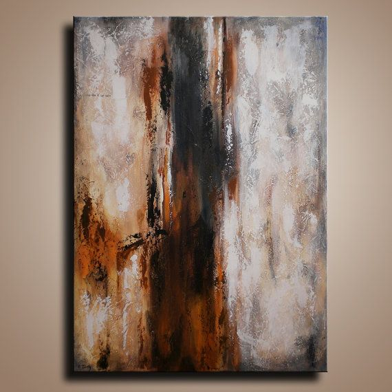Original Abstract Painting on Canvas  Contemporary by itarts, $215.00