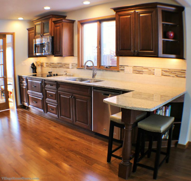 Kitchen Peninsula And Island Ideas: 25+ Best Ideas About Galley Kitchen Remodel On Pinterest