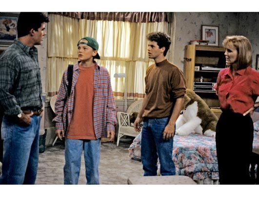 Growing Pains...the day Leonardo DiCaprio moved in. That was a great day in history.