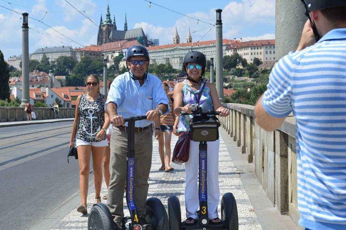 Riding the segway you can achieve a life time fun experience of the beautiful Prague. See here: http://www.segwayfun.eu/