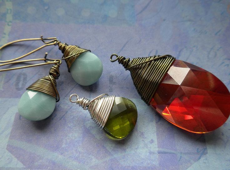 How to wire wrap any briolette