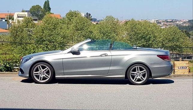 Mercedes E220 cabrio preços usados