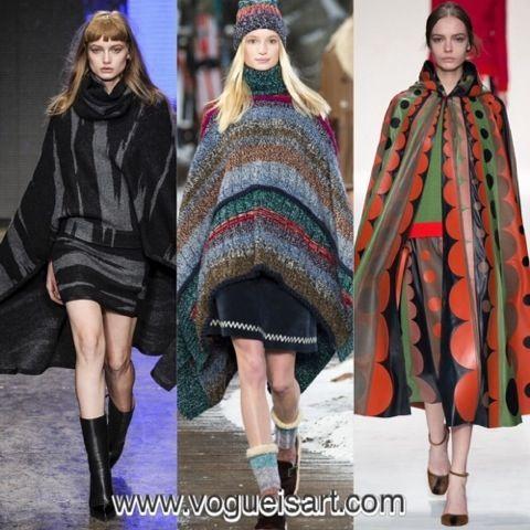 2014-2015 F/W fashion,2014-2015 Sonbahar/kış modası,2014-2015 Sonbahar/kış moda trendleri,2014-2015 Sonbahar/kış kadın modası,Cape,poncho,panço