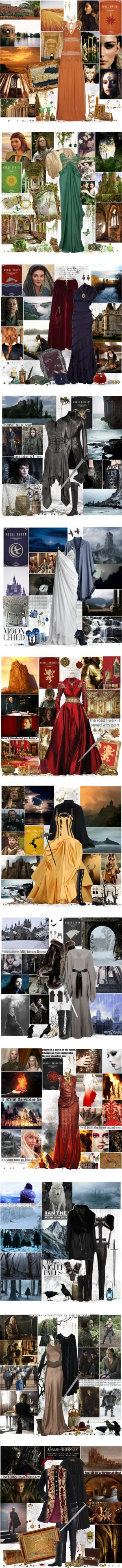 """Game of Thrones"" by cyanideteaparty ❤ liked on Polyvore"