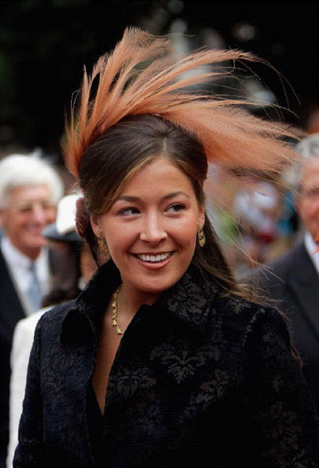 Juliana Guillermo, daughter of Princess Christina of the Netherlands