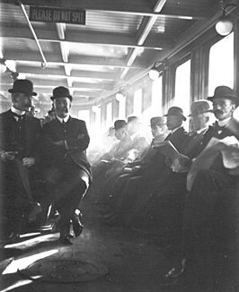 Harold Cazneaux 1878-1953. Please do not spit. 1906 Sydney. From the Ferry Album Box.
