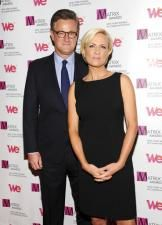 """President Trump and """"Morning Joe"""" co-host Joe Scarborough continued their contentious back-and-forth on Twitter on Friday, with Trump labeling Scarborough's show """"FAKE NEWS"""" and Scarborough accusing the president of trying to use a National Enquirer story to blackmail him into positive coverage."""
