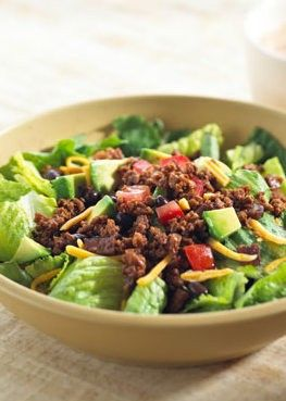 Taco Salad with Fakin' Bacon and Smart Ground : Plant Based Cooking : Lightlife