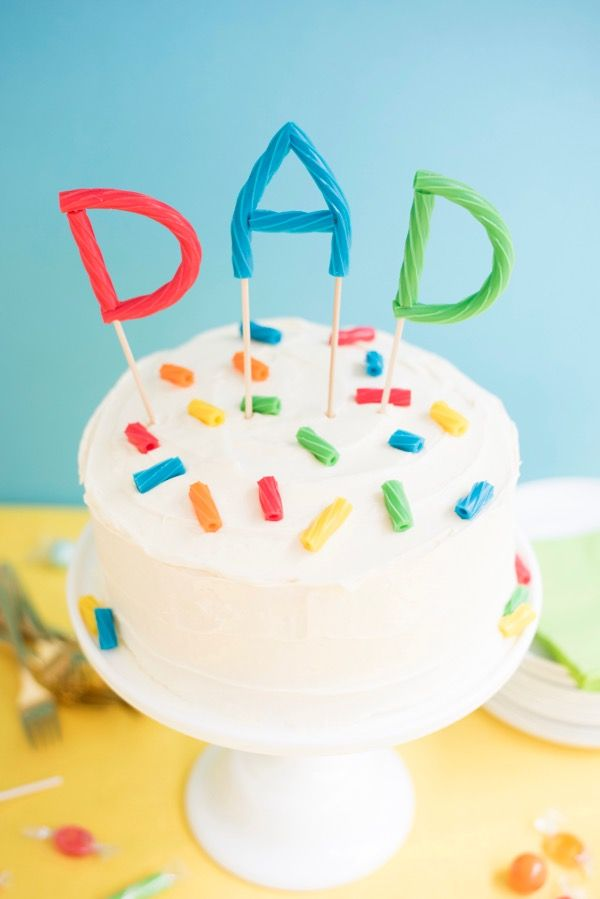 Astounding Fathers Day Twizzlers Cake Topper Oh Happy Day Fathersday Birthday Cards Printable Giouspongecafe Filternl