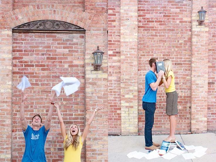 Couples Graduation picture ideas - Megan G Photography