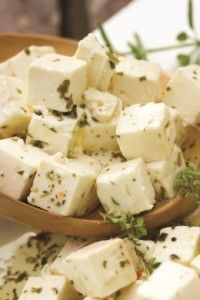 """Feta Cheese is easier than you think to make. Shop around for the HVI culture I found the same one she recommends for half the price as the place she recommended. Same brand and everything. Do a search on """"feta cheese culture""""."""
