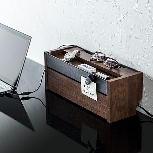 1,000 件以上の 「収納ケーブルボックス」のおしゃれアイデアまとめ ... ケーブルボックスタップ収納ボックススマホスタンド機能充電ステーション木目柄