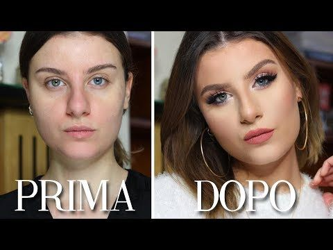 DA BRUTTA A BELLA CON IL MAKE UP Tutorial Trucco occhi SOFT GLAM e rossetto nude…