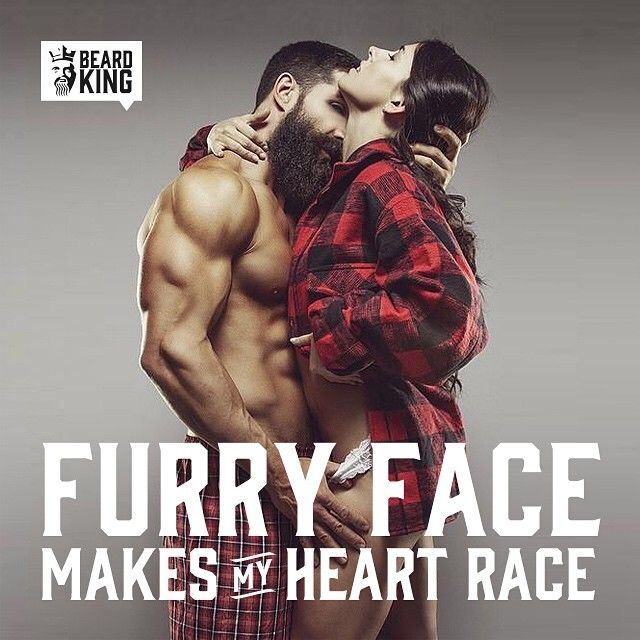 Give her what she wants.  models: @danzbeard @ms_danzbeard  #FacialFurr #Beard…