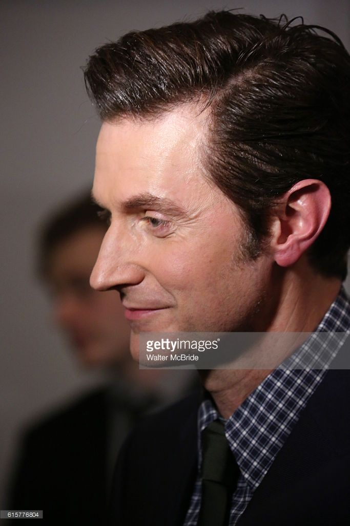 Richard Armitage attends the Off-Broadway Opening Night performance cast press reception for 'Love, Love, Love' at the Laura Pels Theatre on October 16, 2016 in New York City.