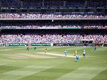 Watch One Day International  live in stadium with chennai crowd