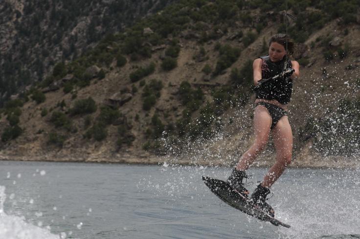 wakeboarding girl - my love # 2!! Anything on a board Whoo! Hoo!