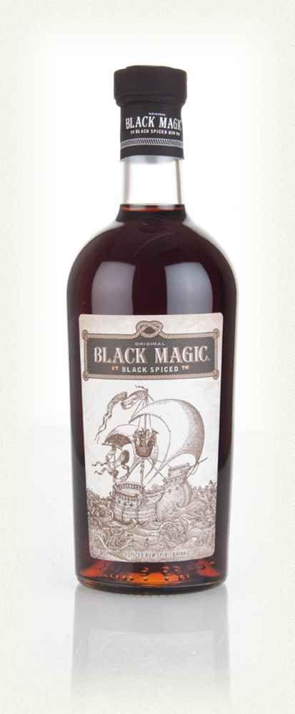 Black Magic Spiced Rum Tolle Geschenkset mit Rum gibt es bei http://www.dona-glassy.de/Geschenke-mit-Rum:::22.html