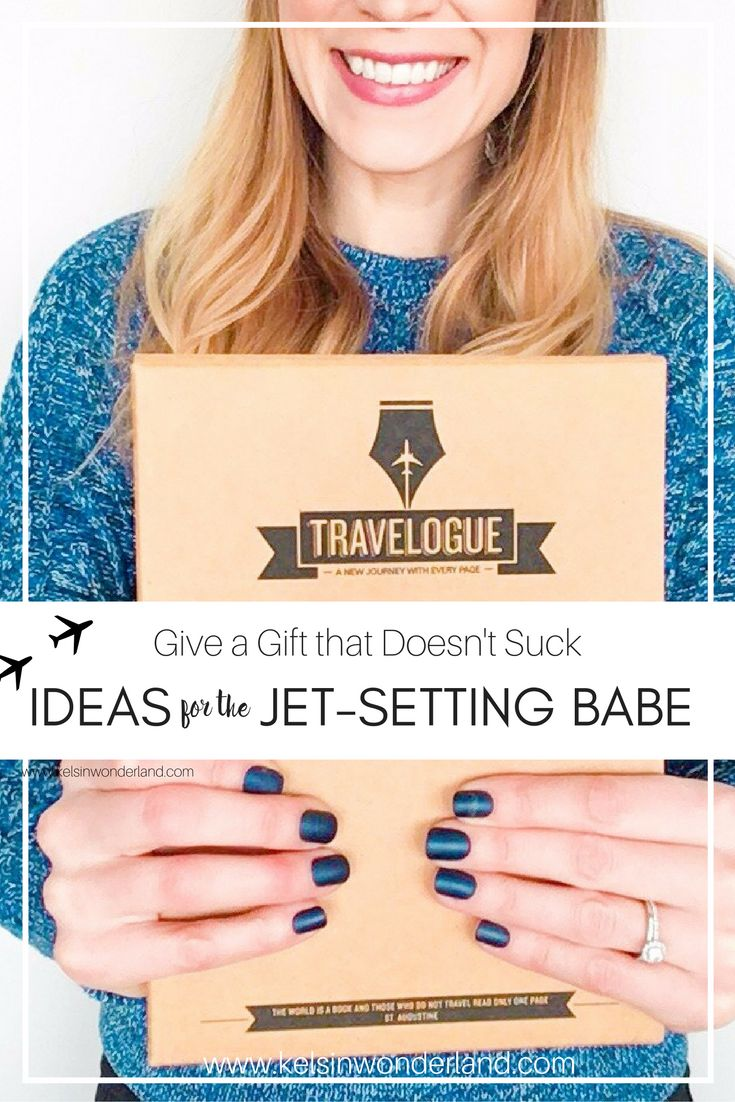 Need a gift idea for that travel babe in your life? I got you covered.