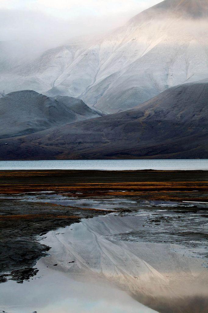 Misty Arctic estuary © Rob Watkins (by Aland Rob)