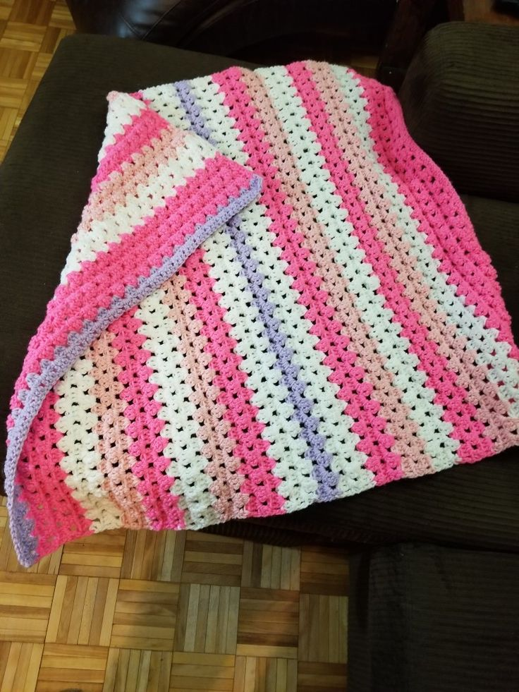 Home made baby blanket