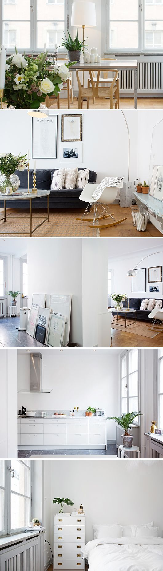 Scandinavian design. Some really smart room composition happening here.