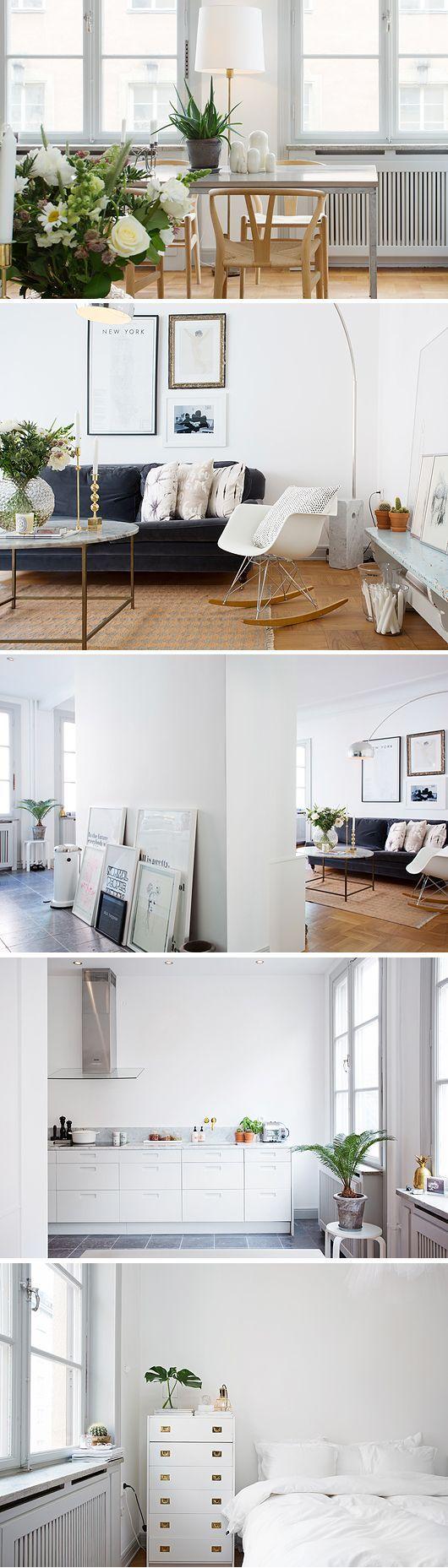 Scandinavian design. Some really smart room composition happening here.